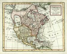 North America Map By Citoyen Berthelon