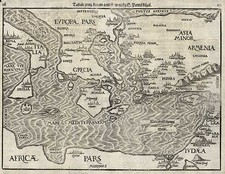 Europe, Mediterranean, Balearic Islands, Asia, Central Asia & Caucasus and Holy Land Map By Heinrich Bunting
