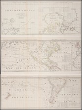 World, South America, Pacific, California and America Map By Robert Sayer  &  John Bennett