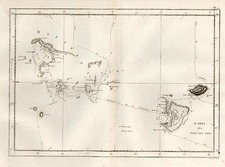 Australia & Oceania, Oceania and Other Pacific Islands Map By James Cook