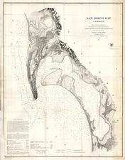 California Map By U.S. Coast Survey