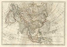 Asia and Asia Map By Samuel Dunn