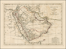 Asia and Middle East Map By Samuel Dunn