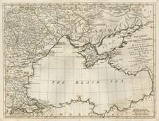 Europe, Russia, Romania, Balkans and Turkey Map By Samuel Dunn