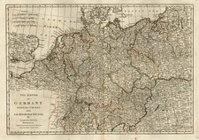 Europe, Poland, Baltic Countries and Germany Map By Samuel Dunn