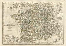 Europe and France Map By Samuel Dunn