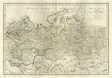 Europe, Poland, Russia, Asia, Central Asia & Caucasus and Russia in Asia Map By Samuel Dunn