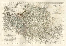 Europe, Poland, Russia and Baltic Countries Map By Samuel Dunn