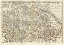 Europe, Hungary, Romania and Balkans Map By Samuel Dunn