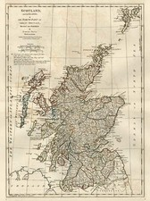 Europe and British Isles Map By Samuel Dunn