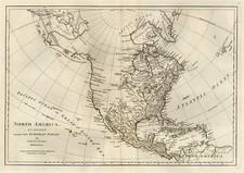 North America Map By Samuel Dunn