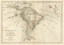 South America Map By Samuel Dunn