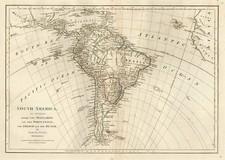 South America Map By Samuel Dunn