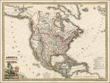 North America Map By Maggi / Stanislao Stucchi