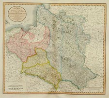 Europe, Poland, Russia, Balkans and Germany Map By John Cary