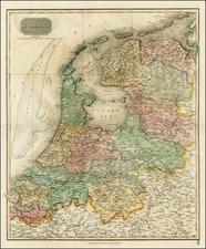 Europe and Netherlands Map By John Thomson