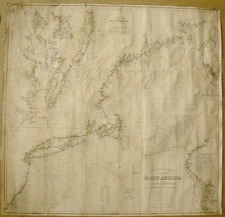 New England, Mid-Atlantic and Southeast Map By George Eldridge