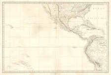 World, United States, Texas, Hawaii and Pacific Map By Depot de la Marine