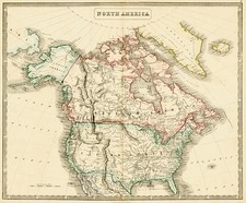 United States, Alaska and Canada Map By George Philip  &  Son