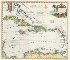 Southeast and Caribbean Map By Thomas Conder