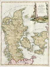 Europe and Scandinavia Map By Antonio Zatta