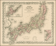 Asia and Japan Map By G.W.  & C.B. Colton