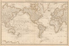 World and World Map By William Rand  &  Andrew McNally