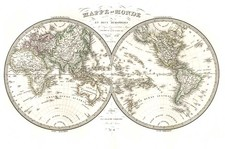 World and World Map By Alexandre Emile Lapie