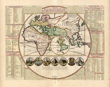 World, World, Eastern Hemisphere, South America, California and America Map By Henri Chatelain