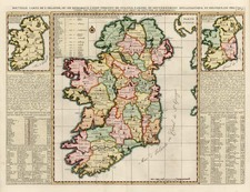 Ireland Map By Henri Chatelain