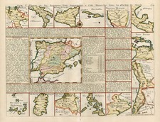 Southwest, Central America, South America, Asia and Philippines Map By Henri Chatelain