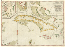 Southeast and Caribbean Map By Mount & Page