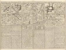 Europe and Switzerland Map By Henri Chatelain