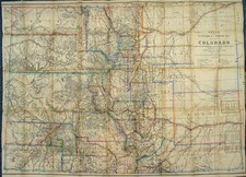 Southwest and Rocky Mountains Map By Louis Nell