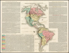 South America and America Map By Chez Le Clerc