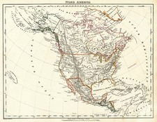 North America Map By Carl Flemming