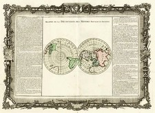 World, World and Polar Maps Map By Buy de Mornas