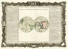 World, World and Polar Maps Map By Buy de Mornas