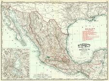 Mexico Map By Rand McNally & Company