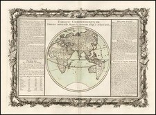 World, World, Eastern Hemisphere, Australia & Oceania and Australia Map By Buy de Mornas