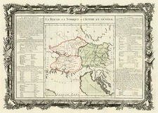 Europe, Europe and Balkans Map By Buy de Mornas
