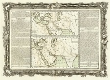 Europe, Mediterranean, Asia, Central Asia & Caucasus, Middle East and Turkey & Asia Minor Map By Buy de Mornas