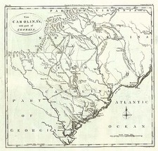 South and Southeast Map By Thomas Conder