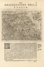 Europe, Italy and Balearic Islands Map By Tomasso Porcacchi