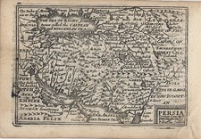 Asia, Central Asia & Caucasus and Middle East Map By John Speed / Pieter van den Keere