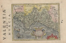 Europe and Spain Map By Henricus Hondius - Gerhard Mercator