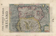 Europe and British Isles Map By Henricus Hondius / Gerhard Mercator