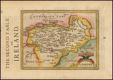 Ireland Map By Henricus Hondius - Gerhard Mercator