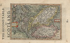 Europe and British Isles Map By Henricus Hondius - Gerhard Mercator