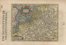 Europe, Netherlands and Germany Map By Jodocus Hondius - Michael Mercator